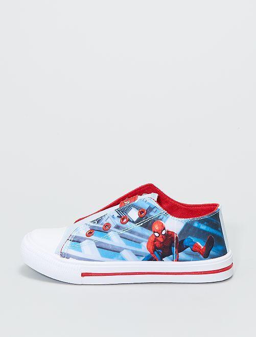 Baskets en toile 'Spider-Man'                             bleu