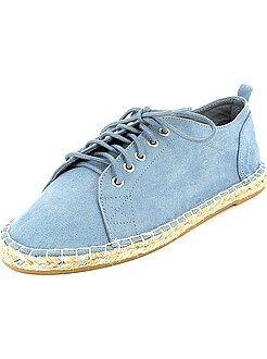Chaussures - Baskets esprit espadrilles - Kiabi