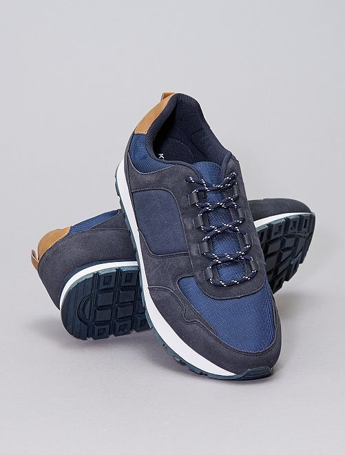 Baskets esprit running                             bleu marine