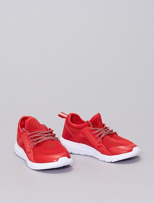 Baskets esprit running                                         rouge