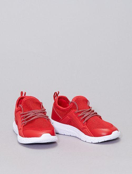 Baskets esprit running                             rouge