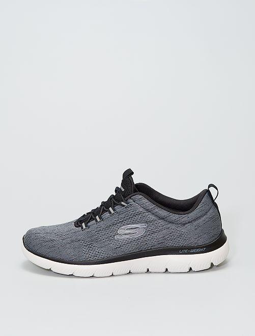 Baskets esprit running 'Skechers'                             gris