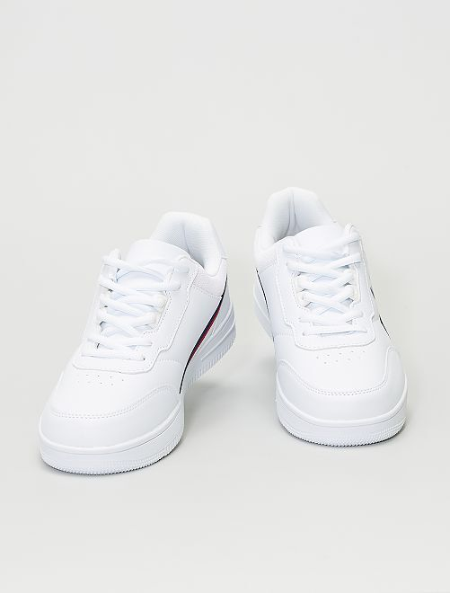 Baskets 'Lee Cooper'                             blanc