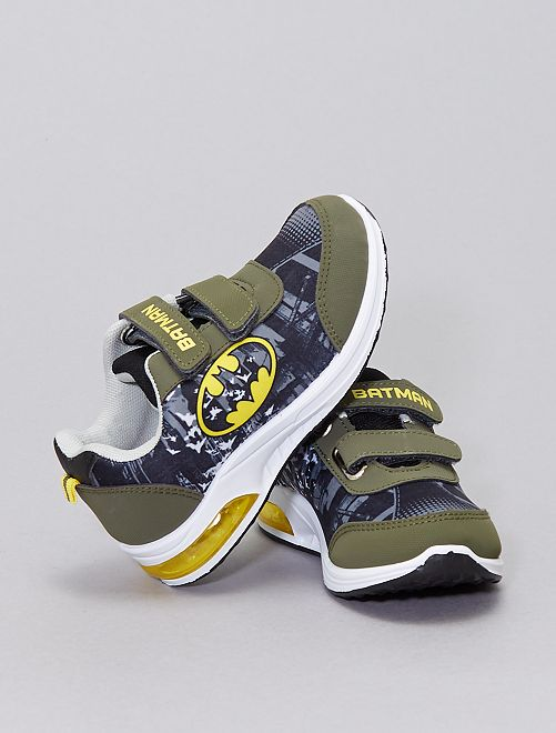 Baskets lumineuses 'Batman'                             kaki
