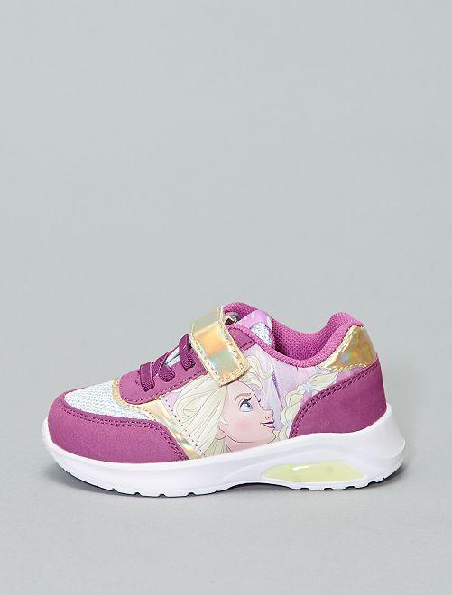 Baskets Lumineuses 'Disney' 'La Reine des neiges'                             violet Fille