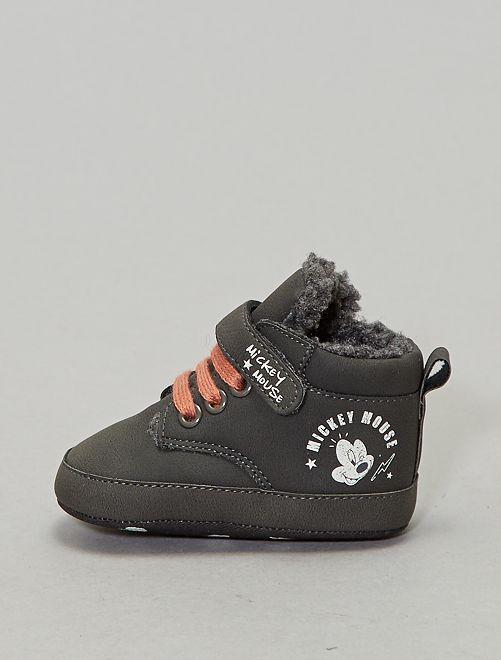 Baskets 'Mickey'                             gris Bébé garçon