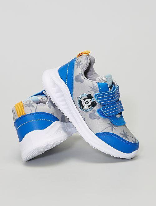 Baskets 'Mickey'                             gris/bleu