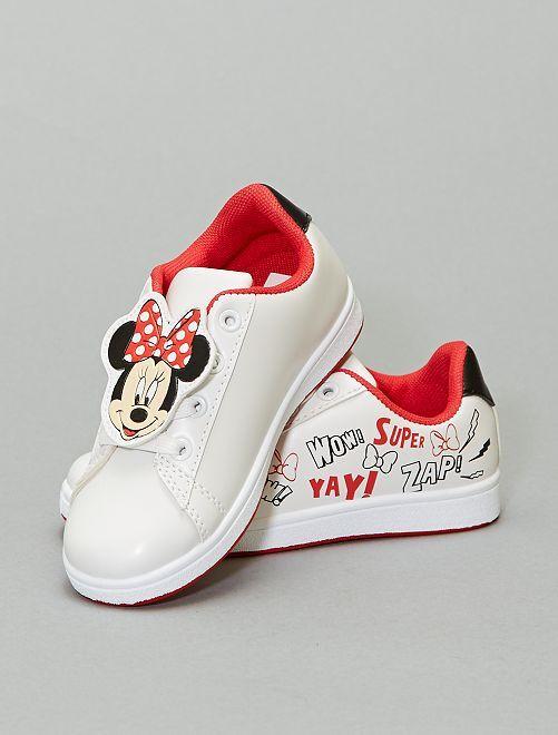 Baskets 'Minnie'                             blanc