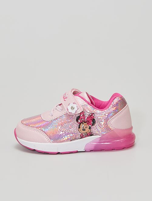 Baskets 'Minnie' 'Disney' lumineuses                             rose