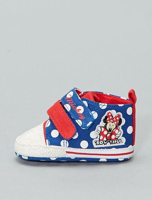Baskets 'Minnie Mouse'                             bleu