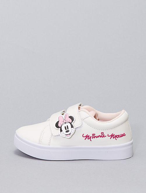 Baskets 'Minnie Mouse' 'Disney'                             blanc