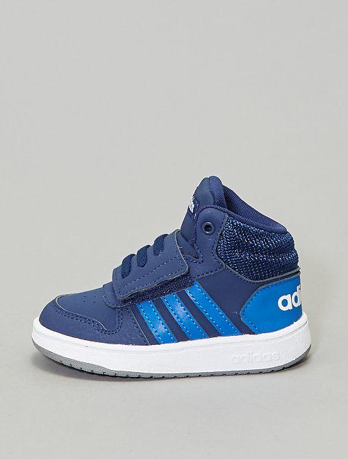 Baskets montantes à scratchs 'adidas Hoops Mid'                                                     bleu