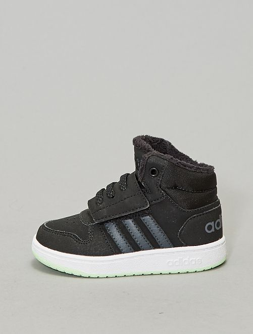 Baskets montantes 'adidas' 'Hoops 2.0 Mid'                             noir