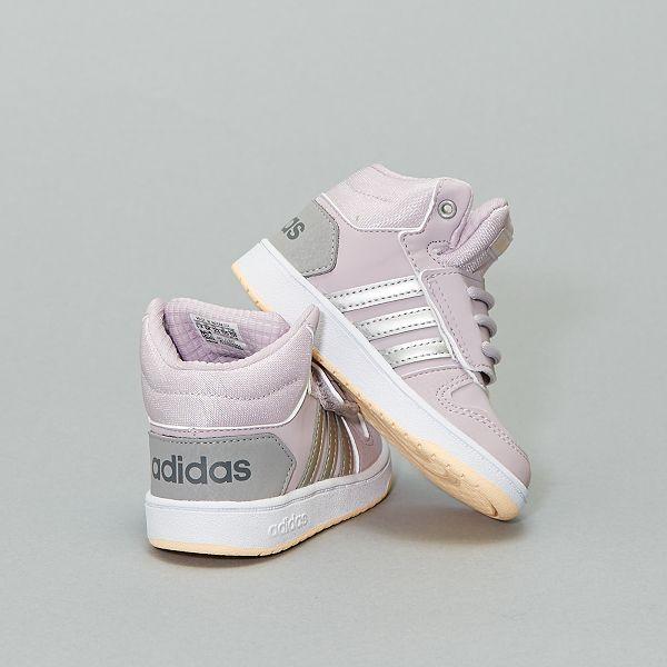 Baskets montantes 'adidas hoops' à scratch