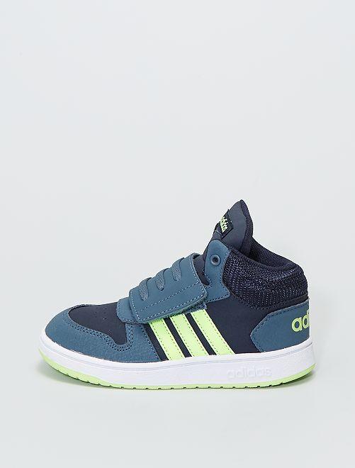 Baskets montantes 'adidas Hoops Mid'                             bleu