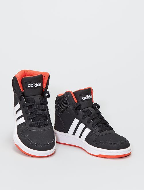 Baskets montantes 'adidas Hoops Mid'                             noir