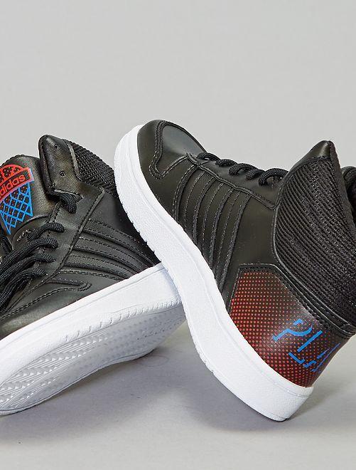 Baskets montantes 'adidas hoops'                                                     noir