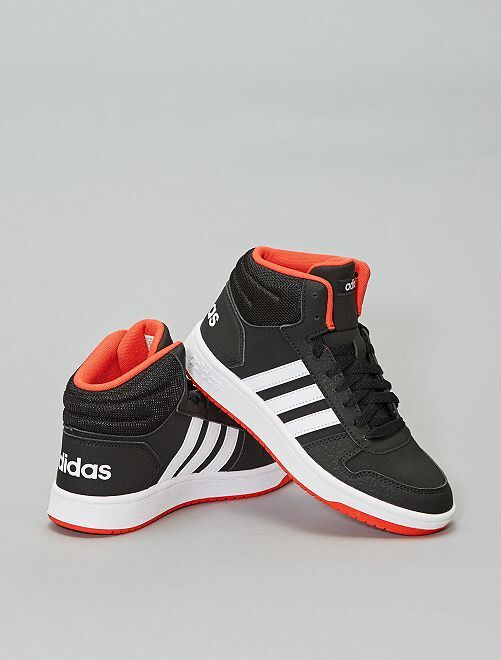 Baskets montantes 'adidas hoops'                     noir/rouge