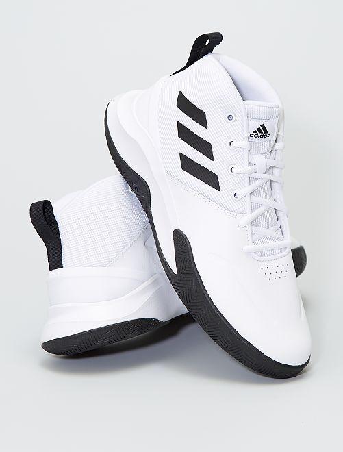 Baskets montantes 'adidas OWNTHEGAME'                             blanc
