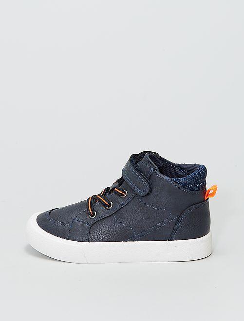 Baskets montantes                                         bleu navy