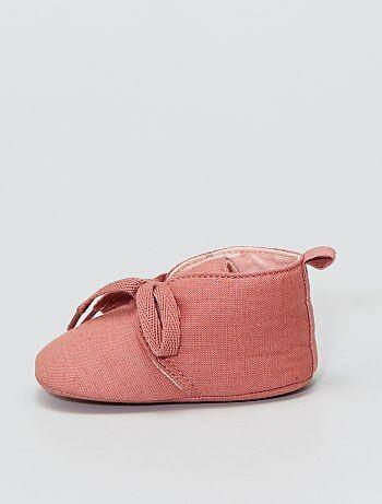 Baskets montantes en tissu