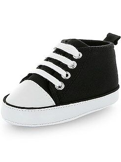 Chaussures, chaussons - Baskets montantes en toile - Kiabi