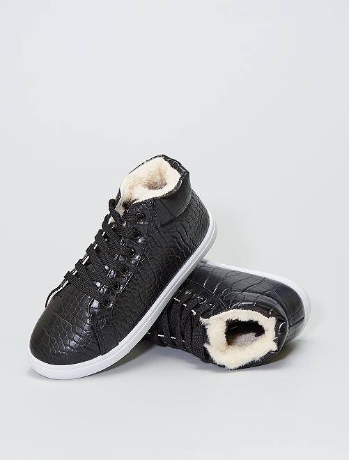 Baskets montantes                             noir