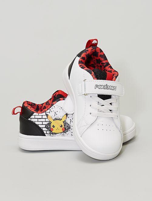 Baskets 'Pokemon'                             blanc/noir