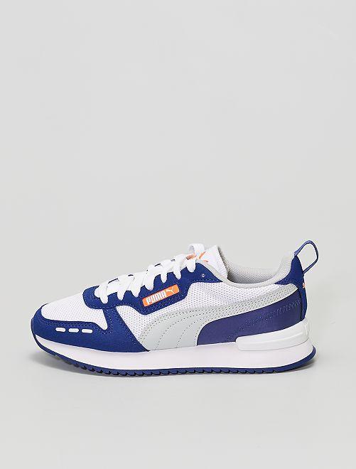 Baskets 'Puma' bicolores                             bleu