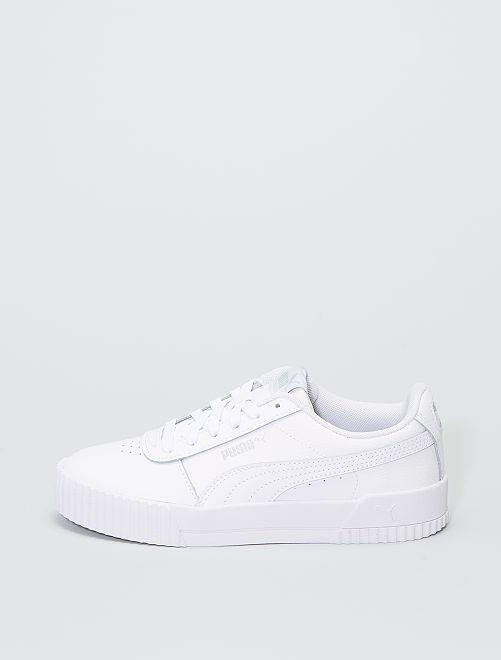 Baskets 'Puma Carina'                             blanc
