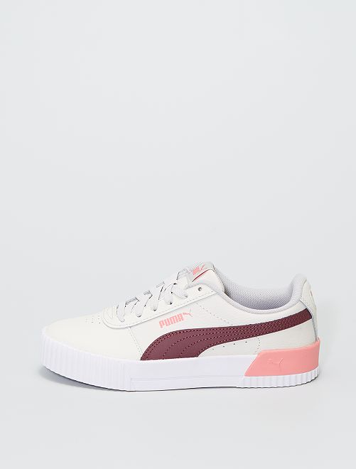 Baskets 'Puma Carina L'                             beige/bordeaux