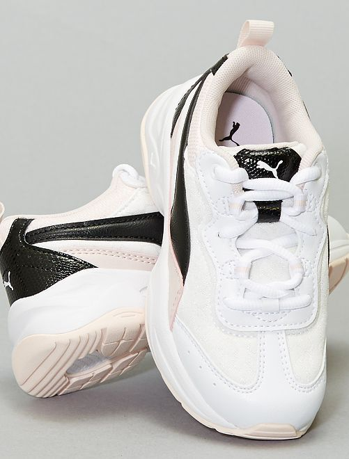 Baskets 'Puma Cilia Cheetah'                             blanc/rose/noir