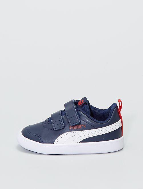 Baskets 'Puma Courtflex'                             bleu marine