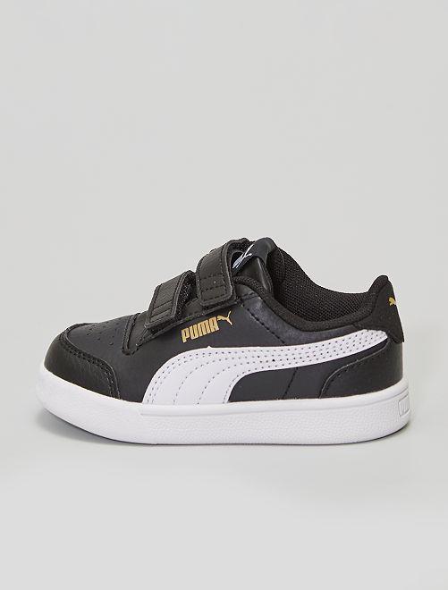 Baskets 'Puma'                             noir/blanc