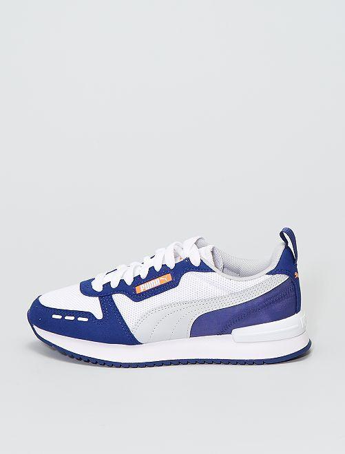 Baskets 'Puma R78'                             bleu