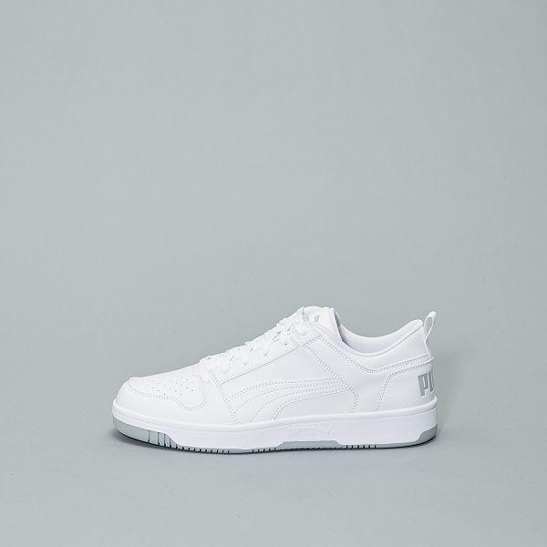baskets homme puma blanche