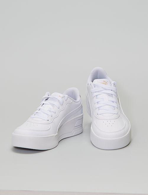 Baskets 'Puma Skye Wedge'                             blanc
