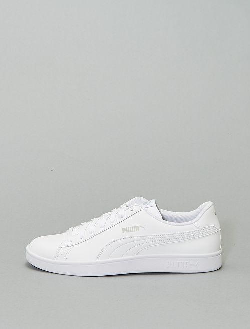 Baskets 'Puma' 'Smash v2'                             blanc