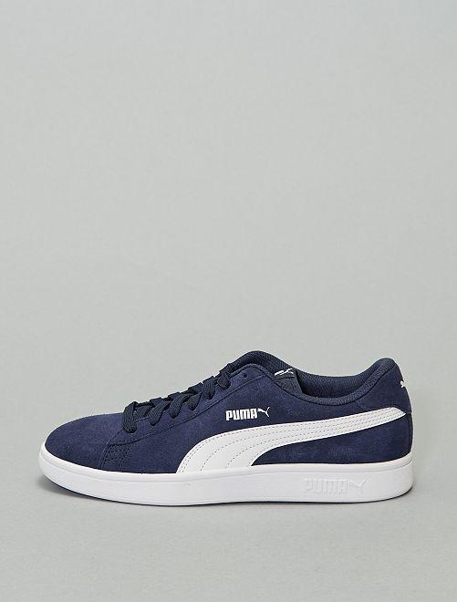 Baskets 'Puma Smash v2'                             bleu marine/blanc