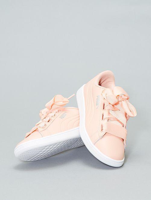 Baskets 'Puma' 'Vikky ribbon'                             rose pâle Femme
