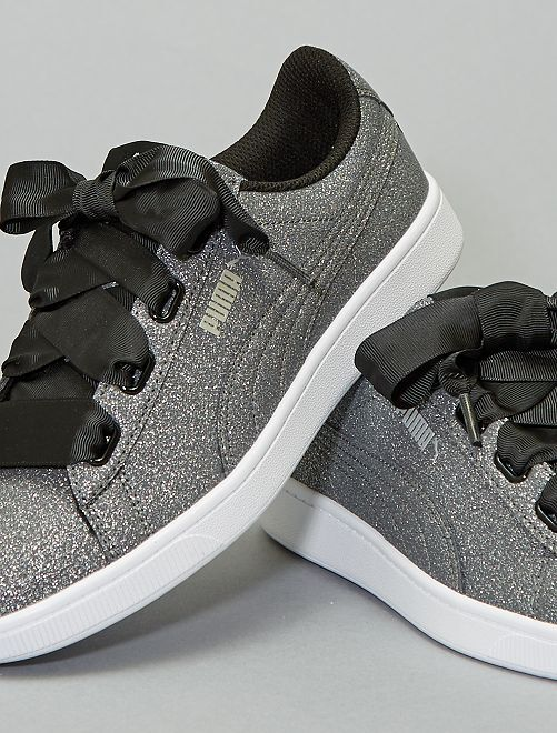 Baskets 'Puma Vikky V2 Ribbon Glitz'                             gris