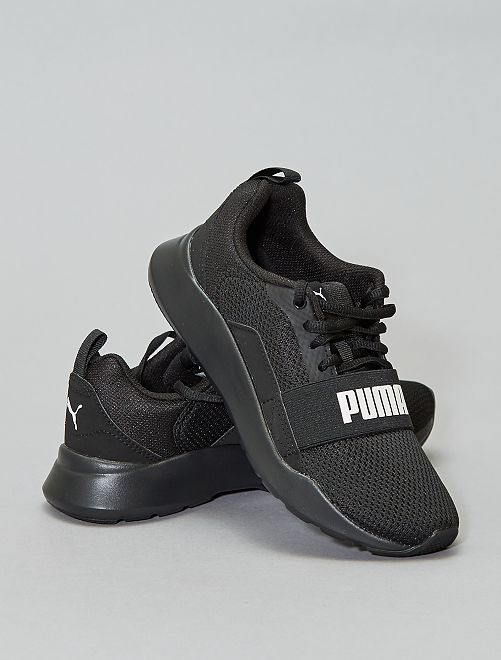 Baskets 'Puma Wired Jr'                             noir Garçon