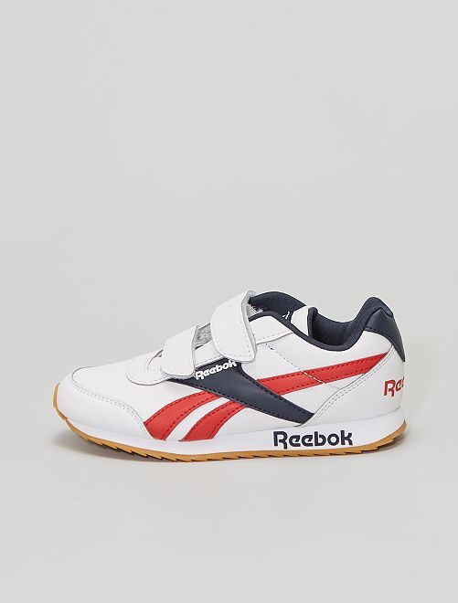 Baskets 'Reebok' 'Royal CLJOG 2 2V'                             blanc/marine/rouge