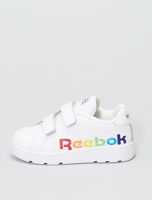 Baskets 'Reebok Royal Complete CLN 2' arc-en-ciel                             BLANC
