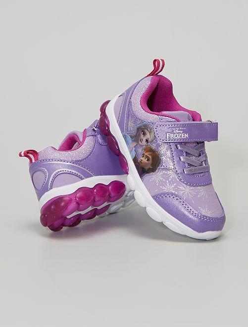 Baskets 'Reine des neiges' 'Disney' lumineuses                             violet