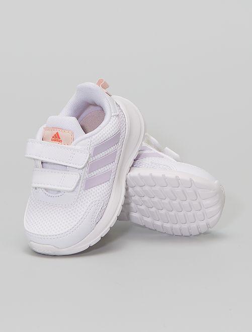 Baskets running à scratchs 'adidas Tensaur Run C'                             BLANC