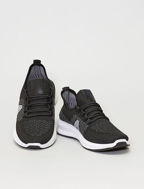 Baskets running                             gris