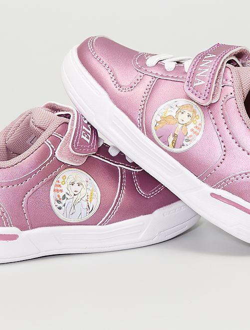 Baskets scratchs 'La Reine des Neiges II' 'Disney'                             ROSE