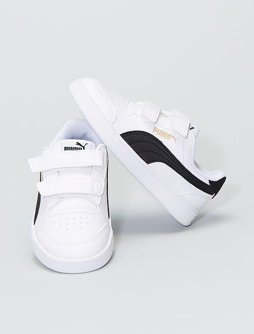 Baskets shuffle de 'Puma'                             blanc
