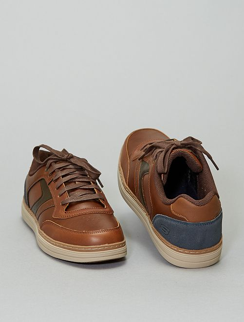 Baskets 'Skechers' en simili                             marron
